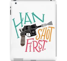 Star Wars - Han Shot First iPad Case/Skin