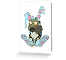 Apocalypse Bunny  Greeting Card