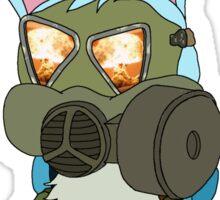 Apocalypse Bunny  Sticker