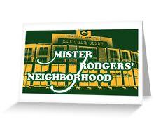 Mister Rodgers' Neighborhood Greeting Card