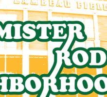 Mister Rodgers' Neighborhood Sticker