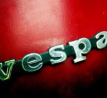 Vespa Red by delosreyes75