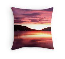 Dunedin Sunrise Throw Pillow