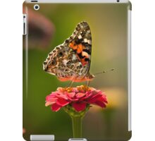 Painted Lady's summer profile iPad Case/Skin