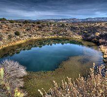 Montezuma Well - Rimrock, AZ USA by Edith Reynolds