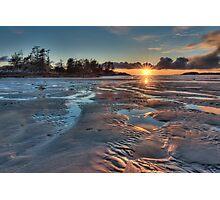 Tofino Sunset Photographic Print