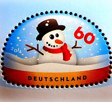Snowman stamp by ©The Creative  Minds