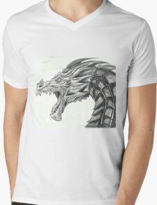 Alduin Mens V-Neck T-Shirt