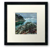 Banks of West Vancouver Framed Print