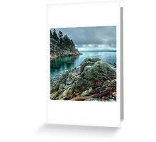 Banks of West Vancouver Greeting Card