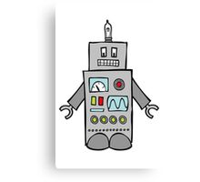 Robot Friend 1000 Canvas Print