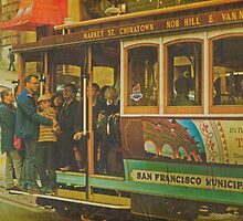 Cable Car - A San Francisco Landmark by Buckwhite