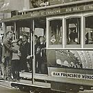 San Francisco Cable Car in B&amp;W by Buckwhite