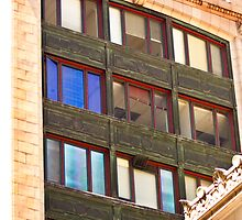 Architecture - Urban Lines and Reflections - San Francisco by Buckwhite