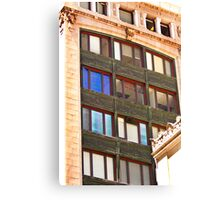 Architecture - Urban Lines and Reflections - San Francisco Canvas Print