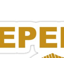 I'm a Keeper - Yellow ink Sticker