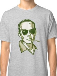 Hunter S. Thompson green Classic T-Shirt
