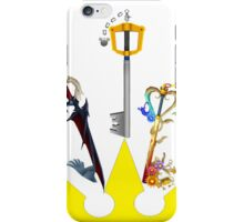 Kingdom Hearts Keyblade Crown iPhone Case/Skin