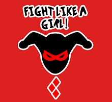 Fight Like A Girl Harley Quinn Unisex T-Shirt