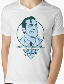 Ash from Evil Dead blue Mens V-Neck T-Shirt