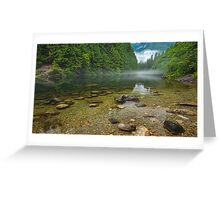 Alouette Lake Clearity Greeting Card