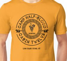 Percy Jackson - Camp Half-Blood - Cabin Twelve - Dionysus Unisex T-Shirt