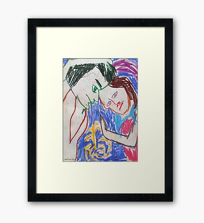 Water of Paradise Framed Print