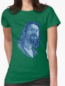 The Dude blue Womens T-Shirt