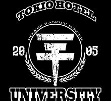 Tokio Hotel University | WHITE TEXT by Nobodysart