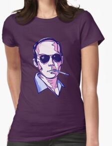 Hunter S. Thompson violet Womens Fitted T-Shirt