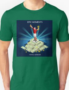 Football Champion Epic Moments T-Shirt