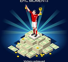 Football Champion Epic Moments by aurielaki