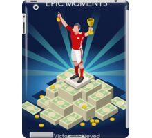 Football Champion Epic Moments iPad Case/Skin