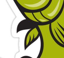 Trout Fish Jumping Cartoon  Sticker