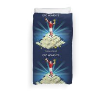 Football Champion Epic Moments Duvet Cover