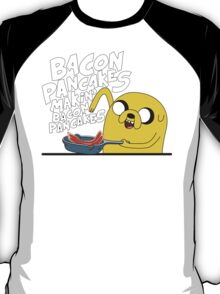 Jake - Adventure Time - Pancakes T-Shirt