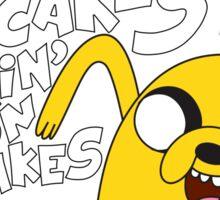 Jake - Adventure Time - Pancakes Sticker