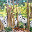 The Curious Case of the Curious Sheep of Glenfern Farm by Karen Gingell
