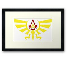 Brotherhood of the the Ocarina Framed Print