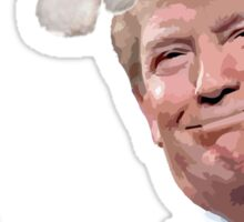 Funny Christmas Santa You're Fired Donald Trump  Sticker
