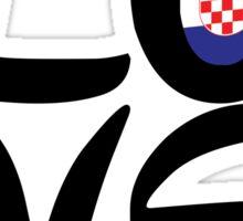 LOVE Eurovision [Croatia] Sticker