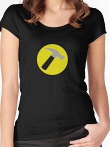 Instant Captain Hammer Costume Women's Fitted Scoop T-Shirt