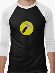 Instant Captain Hammer Costume Men's Baseball ¾ T-Shirt