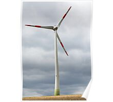 Wind turbine in Germany Poster