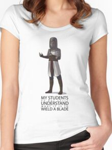 Do Not Understand Women's Fitted Scoop T-Shirt