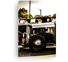 2 Cool & Old Sk00l Canvas Print