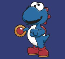 yoshi's cookie monster by Dann Matthews
