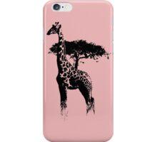 africa giraffe iPhone Case/Skin