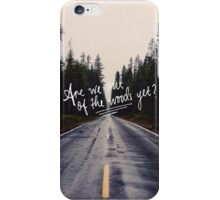 Are We Out of the Woods Yet? scenery iPhone Case/Skin
