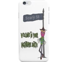 Rick and Morty – Welcome to Your Nightmare, Bitch! iPhone Case/Skin
